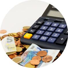 Hulp bij finance en budget