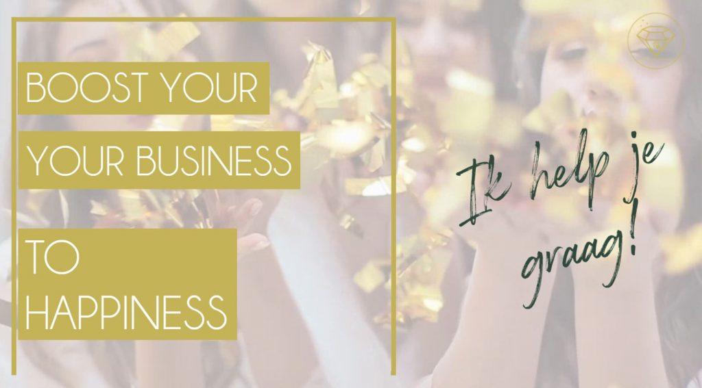 Business boost in 1 Dag